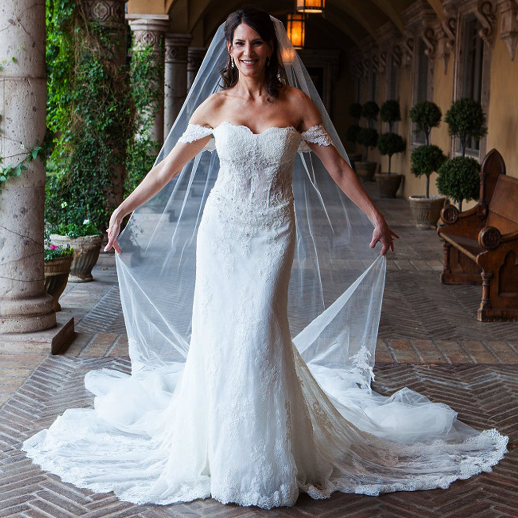 Vintage Off shoulder Sweetheart Neck Charming Lace Beading Long Wedding Dresses, AB1113