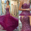 Long Sequined Spaghetti Straps Mermaid Sexy Glitter Unique Junior Prom Dresses,PD0075