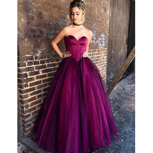 Popular Sweetheart Elegant Cheap Long Evening Prom Dresses, WG1016