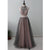 2 Pieces Popular Charming Beaded Tulle Inexpensive Long Prom Dresses, WG1044