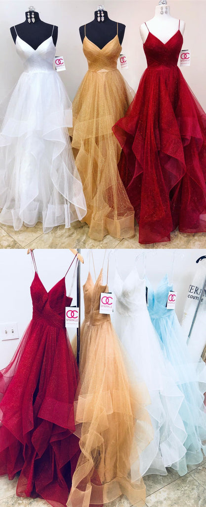 Popular Charming Formal Inexpensive Elegant Evening Long Prom Dresses, WG1115