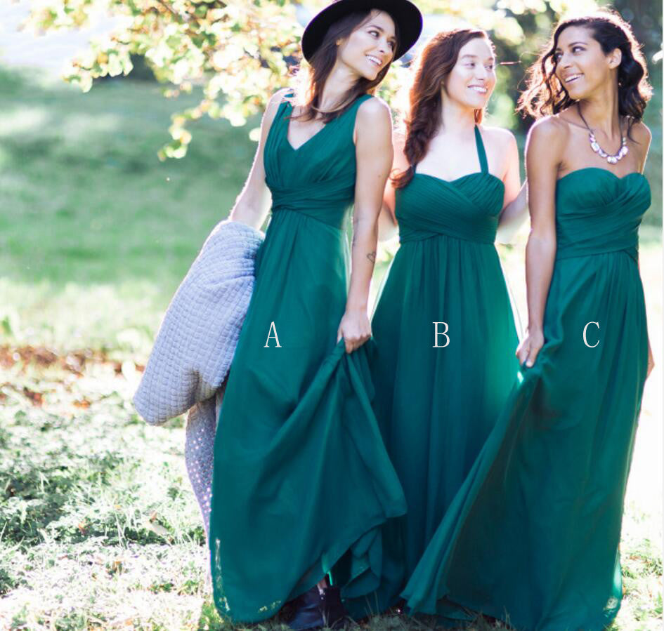 Exquisite Range of Stylish Long Bridesmaid Dresses | Wish Gown ...