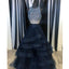 Black Shinning Beaded Top Inexpensive Evening Long Prom Dresses, WG730 - Wish Gown