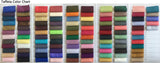 Fabric Swatch, Fabric Sample (please leave the colors and dress SKU in the note box after checking out) - Wish Gown