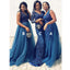 Gorgeous Mismatched Formal Pretty Wedding Party Long Bridesmaid Dresses, WG488 - Wish Gown
