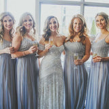 Charming Inexpensive Beaded Top Gorgeous Long Bridesmaid Dresses, WG130 - Wish Gown