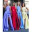 Popular Side Slit Cheap Wedding Party Long Bridesmaid Dresses, SG169