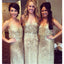 Long Formal Spaghetti Strap Cheap Wedding Bridesmaid Dresses, WG471
