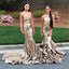 Gorgeous Sequin Long Mermaid Sparkle Bridesmaid Prom Dresses, WG470
