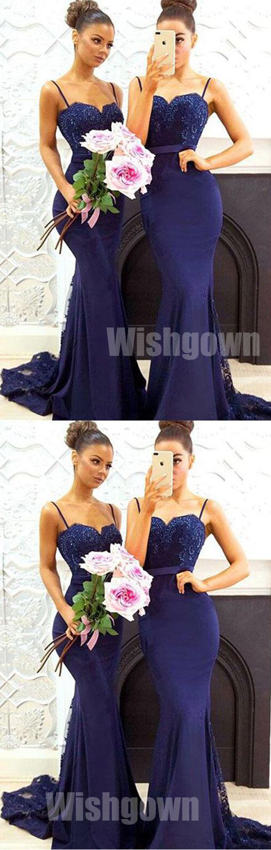 Exquisite Range Of Stylish Long Bridesmaid Dresses Wish Gown