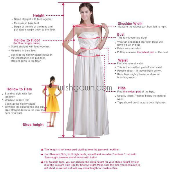 Dark pink Bateau gorgeous Stunning casual homecoming prom gown dresses, BD00154 - Wish Gown