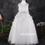 Elegant Pretty Sleeveless Tulle Wedding  Flower Girl Dresses, FGD008