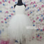 Pretty Off-white Cheap Wedding Little Girl Flower Girl Dresses, FGD005
