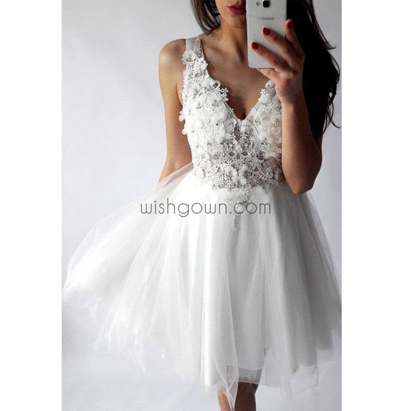 New Arrival Popular Lovely Short Cheap Homecoming Dresses, BD00112