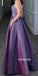 Beautiful Sky Spaghetti Strap Long Prom Dresses PG1186