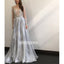 Long Sleeves A-line Gradient Long Prom Dresses PG1118