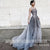 Charming Sparkle Affordable Tulle Beading Evening Long Prom Dresses, WG1094