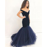 Mermaid Elegant On Sale Sexy Long Evening Party Prom Dress, PD0052