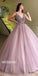 Charming Beaded Inexpensive Popular Evening Ball Gown Long Prom Dress, WG1130