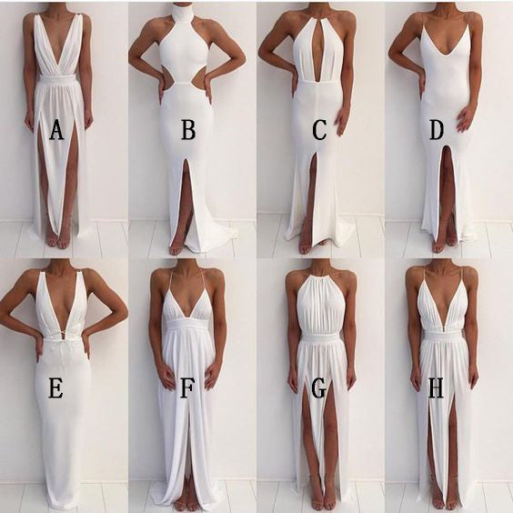 Simple Styles Ivory Sexy Cheap Beach Party Prom Dresses Sg149 Wish Gown