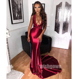 Sexy Mermaid Affordable Long Prom Dresses, MD1107