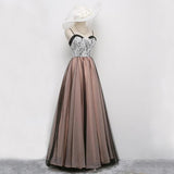 Charming Spaghetti Strap Sweetheart Popular Long Prom Dresses, WG1048 - Wish Gown