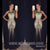 Sparkle Heavy Beaded Mermaid Luxurious Affordable Long Prom Dresses, WG1101