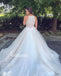 Pretty Halter Spaghetti Strap Tulle Dream Bridal Dresses WDH031