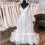 Elegant Illusion Applique Tulle Dreaming Wedding Dress WDH050