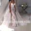 Charming Sweetheart Mermaid Lace Long Bridal Wedding Dresses, BW1514