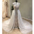 Cap Sleeves Affordable High Neck Modest Long Wedding Dresses, WG1237