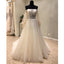 Off the Shoulder Long Sleeves Charming Long Wedding Dresses, WG1234