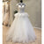Princess Lovely High Neck Cap Sleeves Cheap Bridal Long Wedding Dresses, WG1240
