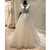 Affordable Short Sleeves V Back Elegant Long Wedding Dresses, WG1230