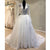 Long Sleeves Modest Small V Neck Lace Cheap Long Wedding Dresses, WG1235