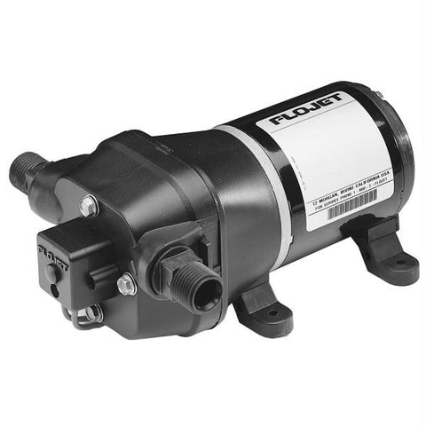 FloJet Deck Wash Pump - 40psi-3.5GPM-12V w-Nozzle