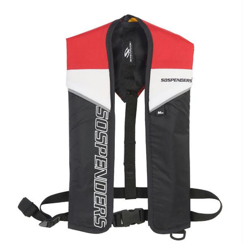 SOSpenders 1271 24G Manual Inflatable Vest - Red