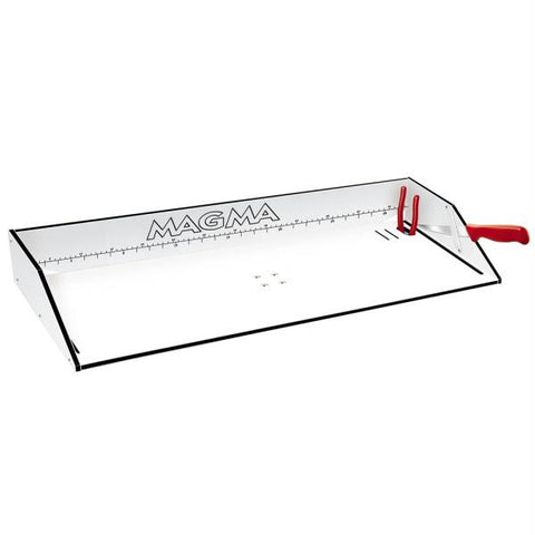"Magma Bait-Filet Mate Serving-Cutting Table - 31"" - White-Black"