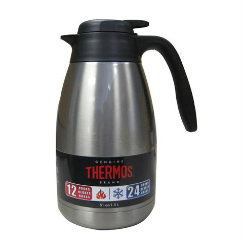 Thermos Serving Carafe - 51 oz. - Stainless Steel