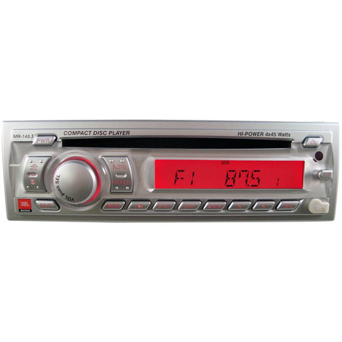 JBL MR145.3 AM-FM-CD Stereo - Front Aux-In - Rear USB - Without Wired Remote Option