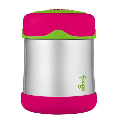 Thermos Foogo® Stainless Steel, Vacuum Insulated Food Jar - Watermelon-Green - 10 oz.