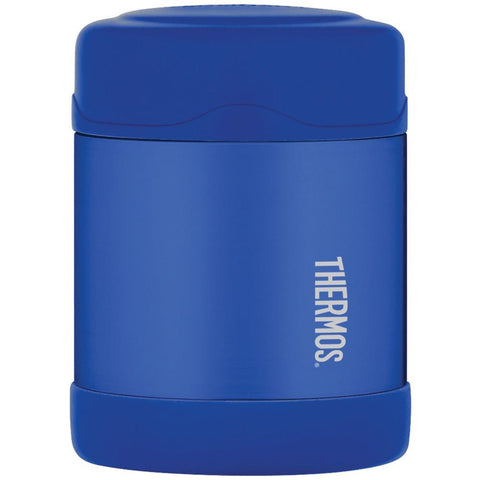 Thermos FUNtainer™ Stainless Steel, Vacuum Insulated Food Jar - Blue - 10 oz.