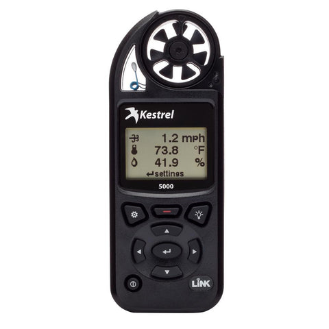 Kestrel 5000 Pocket Weather Meter w-Link Connectivity - Black