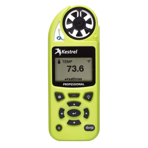 Kestrel 5200 Professional Weather Meter - High Viz Green