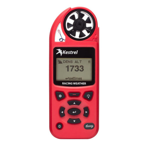 Kestrel 5100 Racing Weather Meter - Red