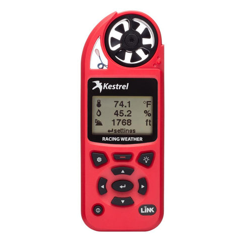 Kestrel 5100 Racing Weather Meter w-Link Connectivity - Red