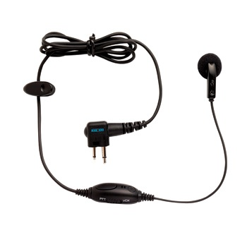 Motorola CP476 - Earbud With Mic Push To Talk Swivel VOC