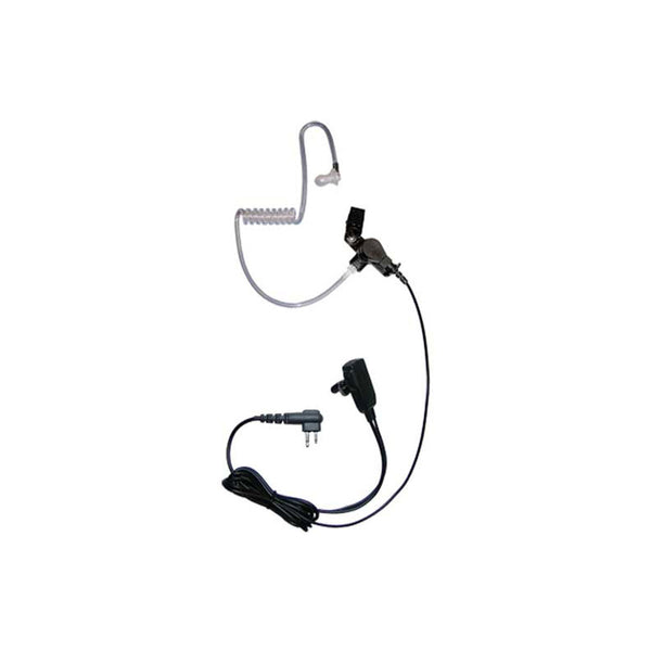 CRS - 2 Wire Long Airtube earpiece with Inline PTT/MIC (HYT)