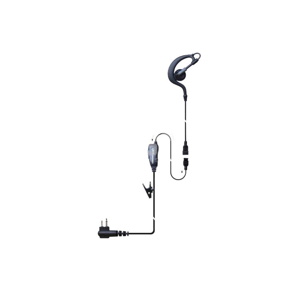 CRS - 1 Wire Earhook earpiece with Inline PTT/MIC (DP3000/DP4000)