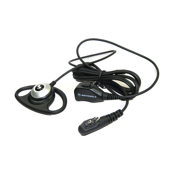 Motorola CP476 - D Shell Earpiece With Push To Talk Mic